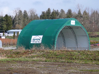wide span shelter Fraser Hwy & Lefeuvre in Abbotsford